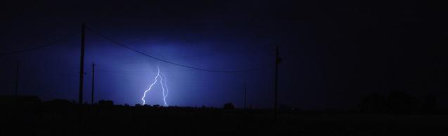lightning post